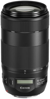 Объектив Canon EF IS II USM 70-300мм f/4-5.6L 0571C005 объектив canon ef s is stm 1620c005 18 55мм f 4 5 6 черный