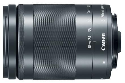 Объектив Canon EF-M IS STM 18-150мм f/3.5-6.3 черный 1375C005