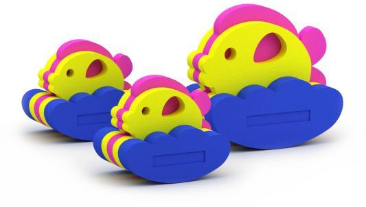 Купить Конструктор Elbasco Семейство рыбок 03-002, Мягкие конструкторы для детей