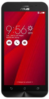 Смартфон ASUS ZenFone Go ZB500KL красный 5 32 Гб LTE Wi-Fi GPS 3G где в харькове смартфон zenfone 5