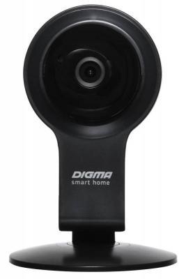 Камера IP Digma DiVision 100 CMOS 2.8 мм 1280 x 720 H.264 Wi-Fi черный белый