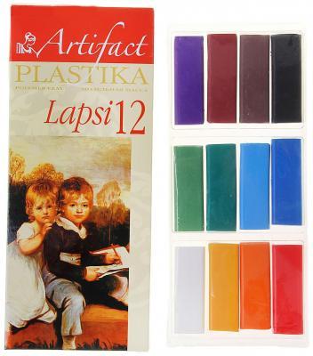 Купить Полимерная глина Artifact 7112-8 12 цветов, Наборы для лепки из глины