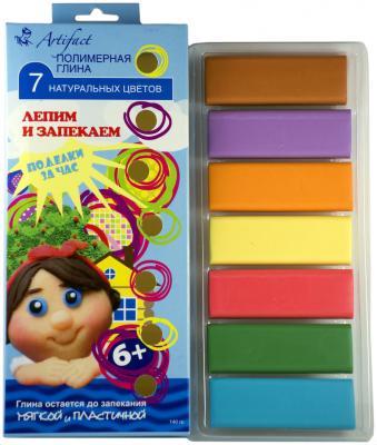 Купить Полимерная глина Artifact 7507-18 7 цветов, Наборы для лепки из глины