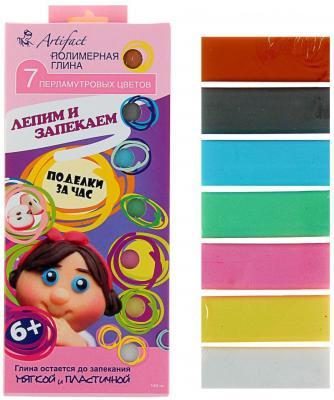 Полимерная глина Artifact 7507-38 7 цветов самозастывающая полимерная глина минск