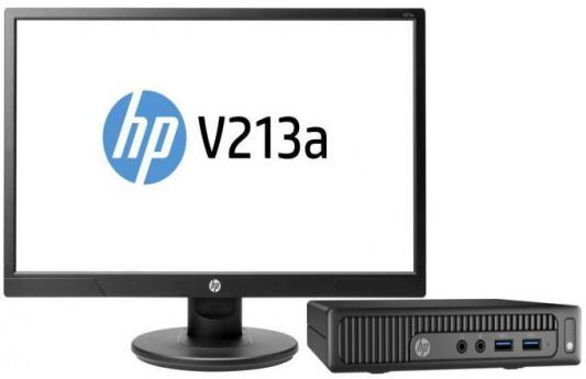 "Компьютер 20.7"" HP 260 G2 DM 1920 x 1080 Intel Core i3-6100U 4Gb 500Gb Intel HD Graphics 520 Windows 10 Professional черный 1EX35ES"