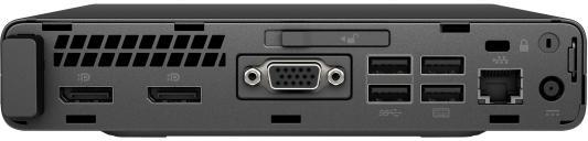 HP EliteDesk 800 G3 Mini Core i5-6500T,8GB DDR4-2400 8GB (1x8GB),500GB,USB kbd/mouse,Stand,Intel 8265 AC 2x2 BT Vpro,Win10Pro+Win7Pro(64-bit),3-3-3 Wty