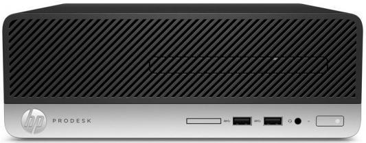 Системный блок HP ProDesk 400 G4 SFF G4400T 2.9GHz 4Gb 500Gb DVD-RW Win7Pro Win10Pro клавиатура мышь 1QN16ES
