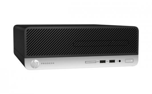 Системный блок HP ProDesk 400 G4 SFF i5-7500 3.4GHz 8Gb 128Gb SSD HD630 DVD-RW Win10Pro клавиатура мышь серебристо-черный 1JJ58EA