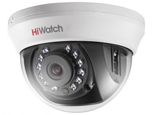 """Видеокамера Hikvision DS-T201 CMOS 1/2.7"""" 2.8 мм 1920 x 1080 серый белый"""