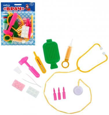 Игровой набор Пластмастер Врач 11 предметов 22219 ролевые игры playgo игровой набор бытовой техники с тостером