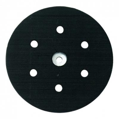 Опорная тарелка Metabo 150мм с липучкой 6 отв 631158000 тарелка опорная metabo 631158000