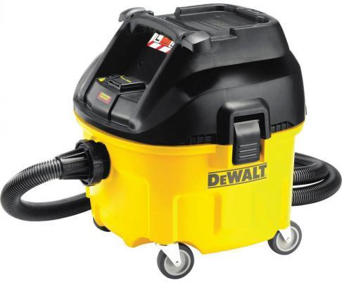 Промышленный пылесос DeWalt DWV 901 L сухая уборка чёрный жёлтый