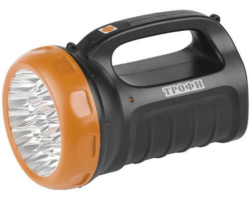 Фонарь ТРОФИ TSP23 светодиодный черный фонарь трофи tsp23 c0045553