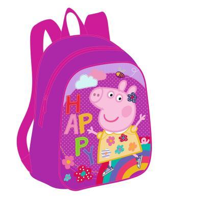 Дошкольный рюкзак РОСМЭН Happy Peppa Pig сиреневый peppa pig транспорт 01565