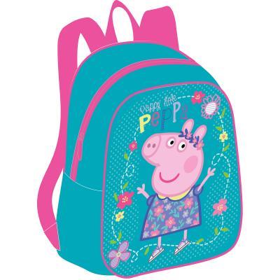 Дошкольный рюкзак РОСМЭН Peppa Pig Умница 32041 голубой рюкзак peppa pig свинка пеппа водонепроницаемый голубой рисунок 29314