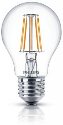 Лампа светодиодная груша Philips 574218 E27 6W 2700K