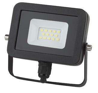 Прожектор ЭРА LPR-10-6500К-М SMD Eco Slim черный прожектор светодиодный эра lpr 30 6500к м smd eco slim