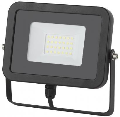 Прожектор ЭРА LPR-30-2700К-М SMD ECO SLIM черный прожектор уличный эра lpr 30 2700к м sen smd 30вт с датчиком движения [б0028657]
