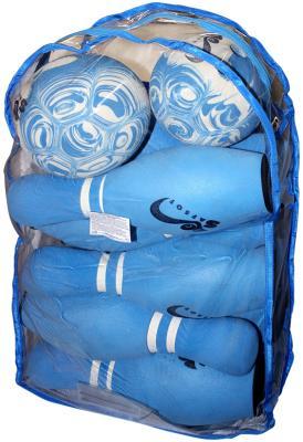 Игра боулинг SAFSOF 10 кеглей 2 мяча в сумке JBB-07-2(B) safsof боулинг в сумке 345 мм