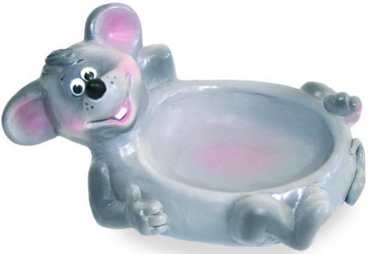 Резиновая игрушка для ванны ВЕСНА Мыльница-мышонок 16 см В1373