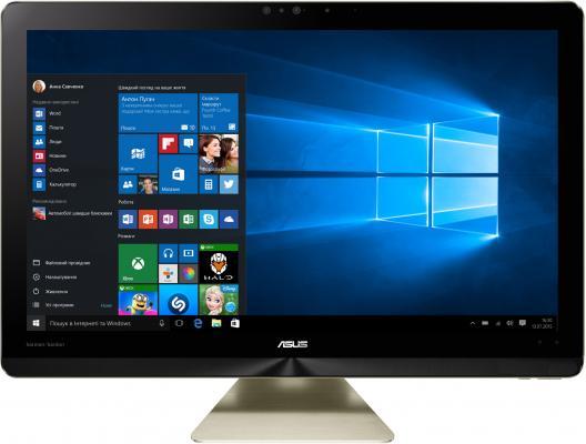 Моноблок 23.8 ASUS Z240IEGK-GA034T 1920 x 1080 Intel Core i7-7700T 8Gb 1Tb nVidia GeForce GTX 1050 4096 Мб Windows 10 золотистый 90PT01T1-M00950 ноутбук asus k501ux dm282t 15 6 intel core i7 6500 2 5ghz 8gb 1tb hdd geforce gtx 950mx 90nb0a62 m03370