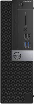 Системный блок DELL Optiplex 5050 SFF i5-7500 3.4GHz 8Gb 256Gb SSD HD630 DVD-RW Win10Pro черный 5050-8305