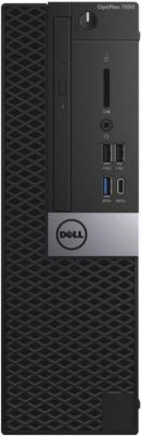 Системный блок DELL Optiplex 7050 SFF i7-7700 3.6GHz 8Gb 1Tb HD630 DVD-RW Win10Pro черный 7050-8336 системный блок lenovo v520s i7 7700 3 6ghz 8gb 1tb intel hd dvd rw win10pro черный 10nm003lru