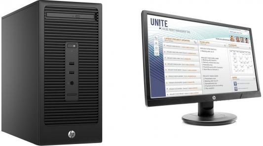 Системный блок HP Bundle 280 G2 MT G4400 3.3GHz 4Gb 500Gb HD510 DVD-RW Win10Pro + монитор V213 Z2J87EA