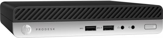 """Неттоп 23"""" HP Bundle 400 G3 Mini 1920 x 1080 Intel Core i5-7500T 4Gb 500Gb Intel HD Graphics 630 Windows 10 Professional черный 1KN77EA"""