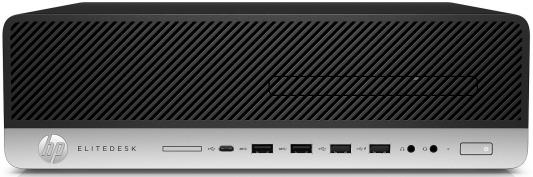 Системный блок HP EliteDesk 800 G3 i5-6500 3.2GHz 8Gb 256Gb SSD HD530 DVD-RW Win7Pro Win10Pro клавиатура мышь серебристо-черный 1KL69AW 912 v328 086