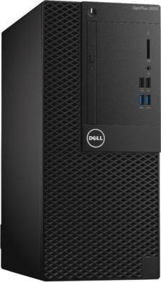 Системный блок DELL Optiplex 3050 MT i5-7500 3.4GHz 8Gb 1Tb HD630 DVD-RW Linux клавиатура мышь серебристо-черный 3050-0375