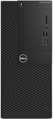 Системный блок DELL Optiplex 3050 MT i3-7100 3.9GHz 4Gb 500Gb HD630 DVD-RW Win10Pro клавиатура мышь серебристо-черный 3050-0351 системный блок hp prodesk 400 g4 mt i7 7700 3 6ghz 4gb 500gb hd630 dvd rw dos клавиатура мышь серебристо черный 1kn91ea
