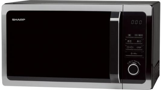 СВЧ Sharp R7852RK 900 Вт чёрный цена и фото