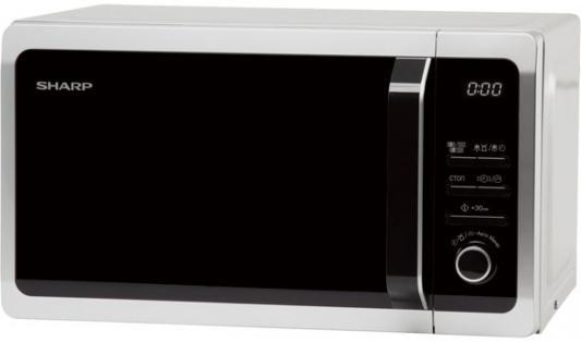 СВЧ Sharp R-7852RSL 900 Вт чёрный серебристый sharp sjxp59pgsl