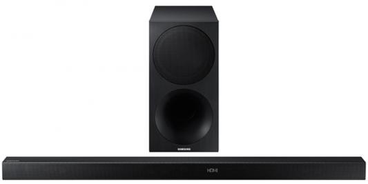 Акустическая система Samsung HW-M550/RU черный, Звуковая панель + сабвуфер  - купить со скидкой