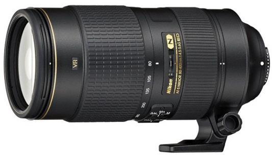 Объектив Nikon AF-S DX Nikkor ED VR 80-400мм f/4.5-5.6 JAA817DA