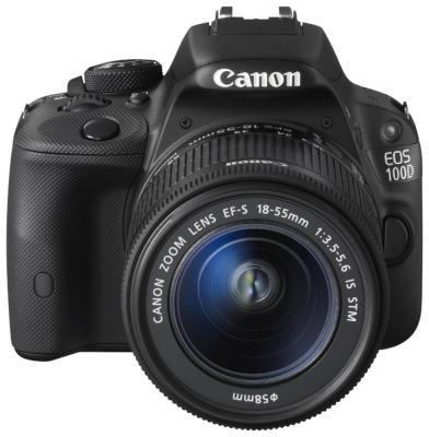 Зеркальная фотокамера Canon EOS 100D черный 18Mpix EF-S 18-55mm f/3.5-5.6 DCIII EF-S 10-18mm f/4.5-5.6 DCIII 8576B119