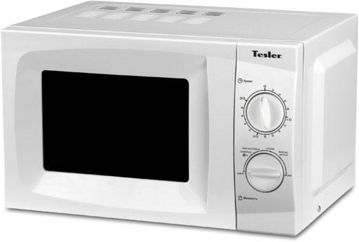 СВЧ TESLER MM-1716 700 Вт белый мультиварка tesler 500 челябинск