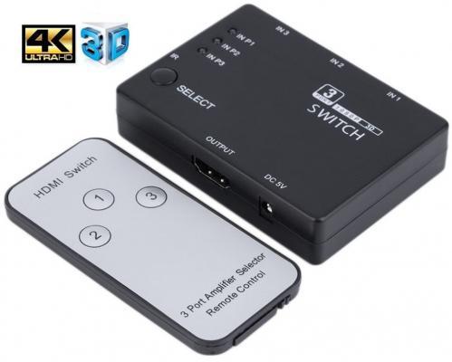 Разветвитель HDMI Orient HS0301H 30372