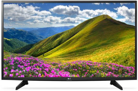 Телевизор LG 43LJ510V черный