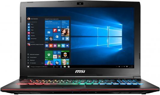 Ноутбук MSI GE72MVR 7RG-057RU Apache Pro 17.3 1920x1080 Intel Core i7-7700HQ msi ge62mvr 7rg apache pro