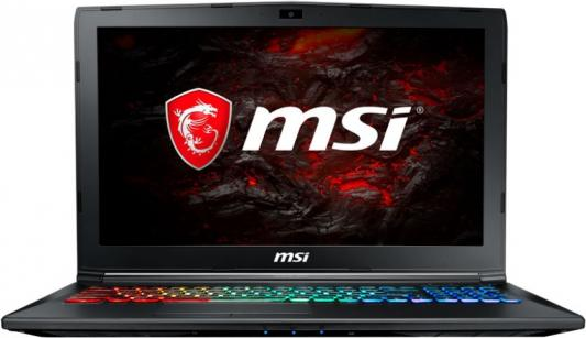 Ноутбук MSI GP62M 7REX-1281RU Leopard Pro 15.6 1920x1080 Intel Core i7-7700HQ 9S7-16J9B2-1281 ноутбук msi gs43vr 7re 094ru phantom pro 9s7 14a332 094