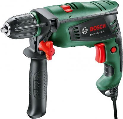 Ударная дрель Bosch Bosch EasyImpact 570 570Вт bosch bgs 21832