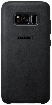 Чехол Samsung EF-XG955ASEGRU для Samsung Galaxy S8+ Alcantara Cover серый