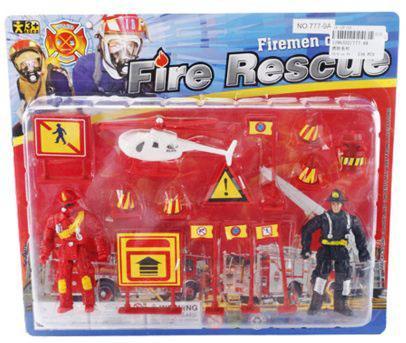 Игровой набор Shantou Gepai Fire Rescue 777-9A игровой набор big big дорожные знаки для детей 6 шт 69 см