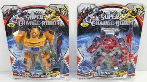 Купить Робот-трансформер Shantou Gepai Super Change Robot в ассортименте 3-7, Игрушки-трансформеры