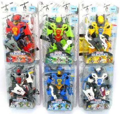 Робот-трансформер Shantou Gepai Earth Heroes 8 см  F1306-2