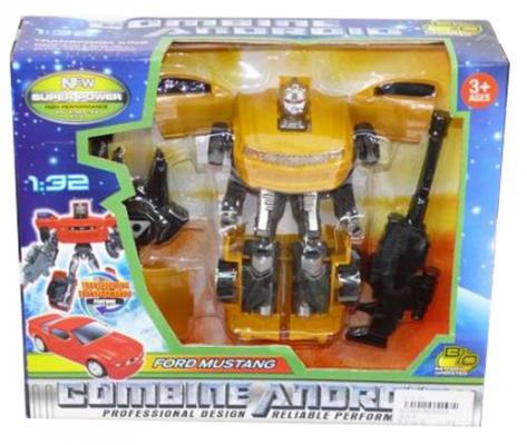 """Робот-трансформер Shantou Gepai """"Робот-машина"""" - Ford Mustang 1:32, DT2012A"""