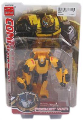 Робот-трансформер Shantou Gepai Commander 5505C робот трансформер shantou gepai 668 1