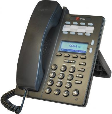 Телефон IP QTECH QVP-100P черный